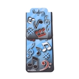Magnetic Music Note Bookmark