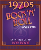 1970s Rock N Roll Quiz Cards