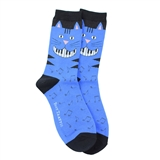Women's Cat on Keys Socks