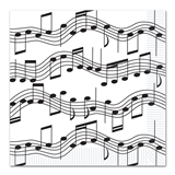 Music Notes Luncheon Napkins