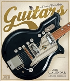 Guitars 2018 Wall Calendar