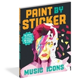 Music Icon Paint by Sticker Book
