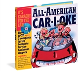 All American Sing A Long Car-i-oke Book with CD