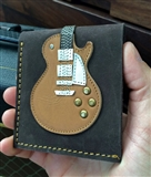 Limited Edition Leather Electric Guitar Wallet