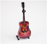 Journey Escape Album Tribute Miniature Acoustic Guitar