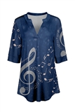 Song Sung Blue Tunic