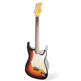 Fender Guitar Cut-Out Greeting Card