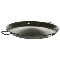 "26"" Enameled Steel Paella Pan"