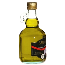 Sabioliva extra-virgin olive oil - 500 ml short glass bottle