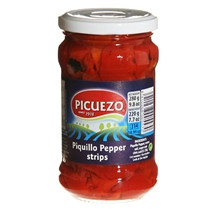 Piquillo Pepper Strips by Picuezo