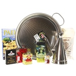 Paella Pan Gift Set with Olive Oil Dispenser