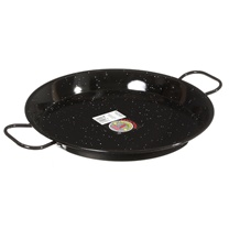 """AS IS"" Enameled Steel Paella Pans - (various sizes)"