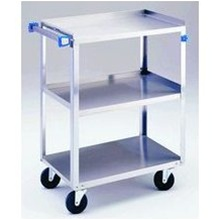 "Lakeside Stainless Steel Cart - 27 5/8""L x  16 3/4""W x  33 3/8""H : Lakeside Industries: 411"