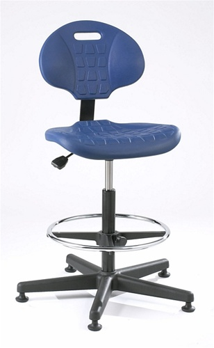 Polyurethane Ergonomic Chair: Bevco: 7500. Industrial Or Lab Seating At An  Economical Price