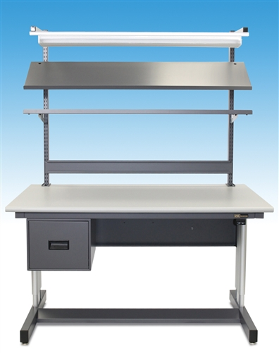 Iac 930 Complete Adjustable Height Workbench With Motorized Standard