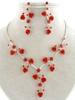 Flower and Crystals Set-5 Colors