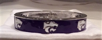 Emerson Street KSU Wildcats Bangle