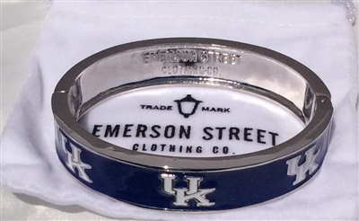 UK Wildcats Bangle Bracelet-2 Styles