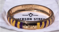 LSU Tigers Bangle Cuff-2 STYLES