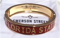 Emerson Street Florida State Seminoles Bangle Cuff