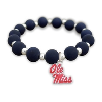 Silicone and Stainless Stretch Bracelet-ALL Schools
