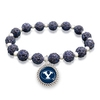 Sparkle and Stainless Stretch Bracelet-ALL Schools
