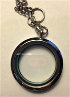 Circle Locket Plain