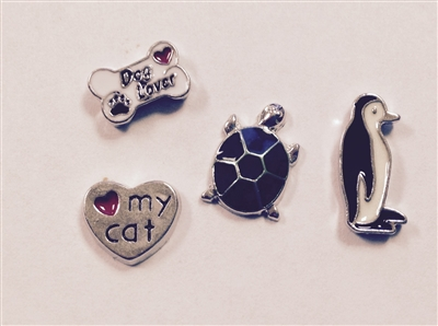 Memory Locket Floating Charms-Animals & Nature