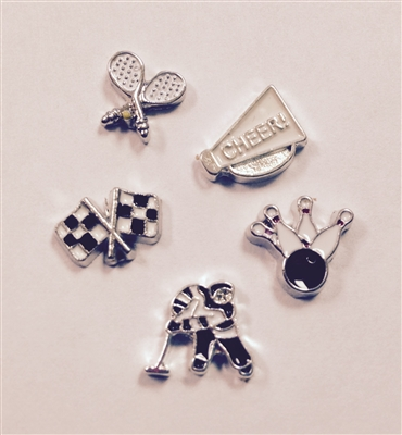 Memory Locket Floating Charms-Sports