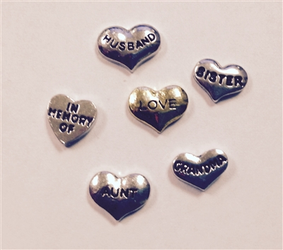 Memory Locket Floating Charms-Family
