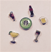 Memory Locket Floating Charms-Food & Drink