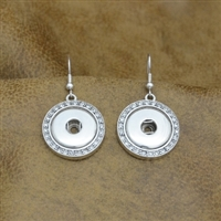 Snap Button Earrings
