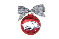 University of Arkansas Razorbacks Ornament-2 STYLES