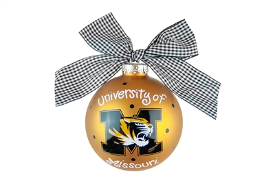 University of Missouri Tigers Ornament-2 STYLES