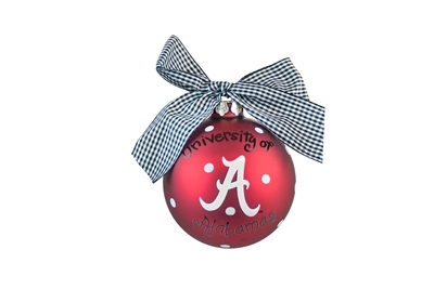 University of Alabama Crimson Tide Ornament-2 STYLES