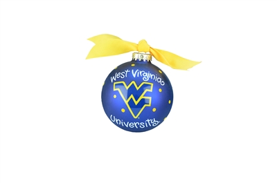 West Virginia Mountaineers Ornament