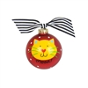 Meow Kitty Christmas Ornament