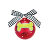 Woof Doggie Christmas Ornament