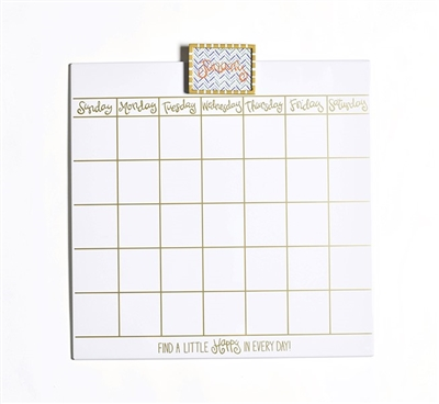 Happy Everything Wall Calendar-18 inch