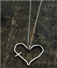 His Word in my Heart Pendant-Silver