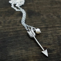 Chunky Arrow Pendant