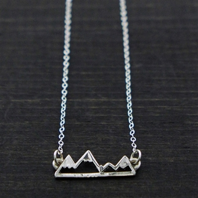 Take Me to the Mountains Pendant