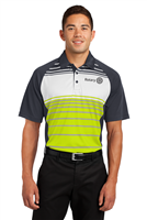 Polo- Mens Dri Zone Sublimated Stripe
