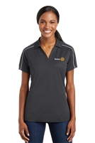 Polo - Ladies SportTek Micropique Piped