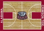 College Home Court Rugs