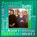 Sister Word Mat Personalized Print