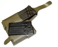 G3/HK91 Rubberized Mag Pouch W/2 Steel Mags
