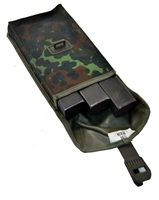 Uzi Magazine pouch set containing 3x32 Rd magazines
