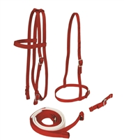 Nylon Horse Bridle Set - Horse Racing Equipment