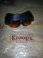 Amber Lens Racing Kroops Goggle - Jockey Equipment